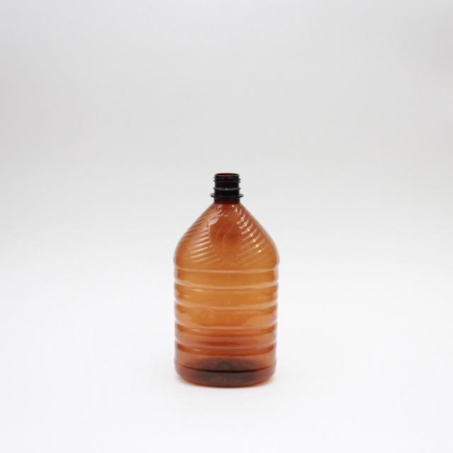 ПЭТ бутылка 1 литр фляжка